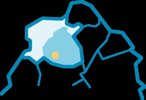 Piirretty kartta